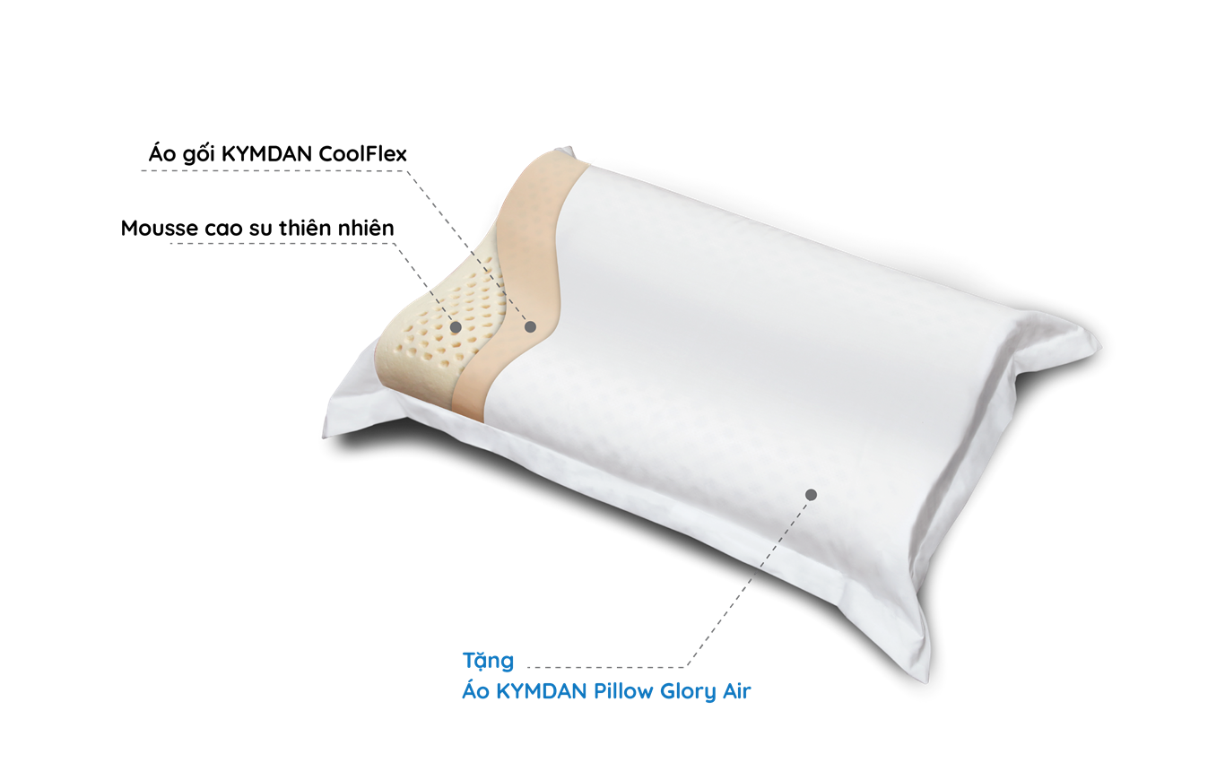 Gối KYMDAN Pillow Glory Air